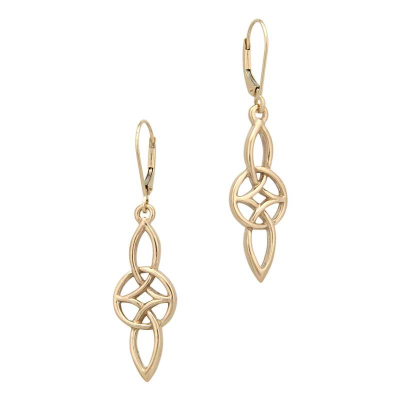 Gold Everlasting Love Earrings