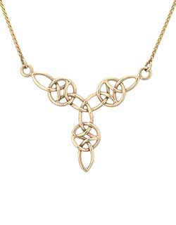 Everlasting Love Necklace, Gold