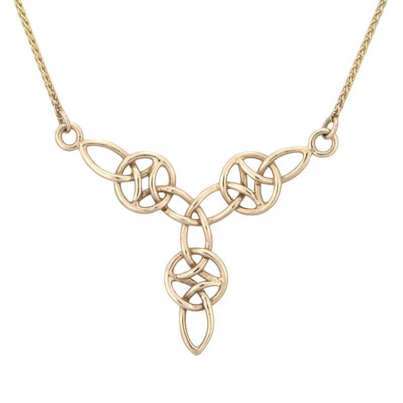 Everlasting Love Necklace, 14 kt. Gold