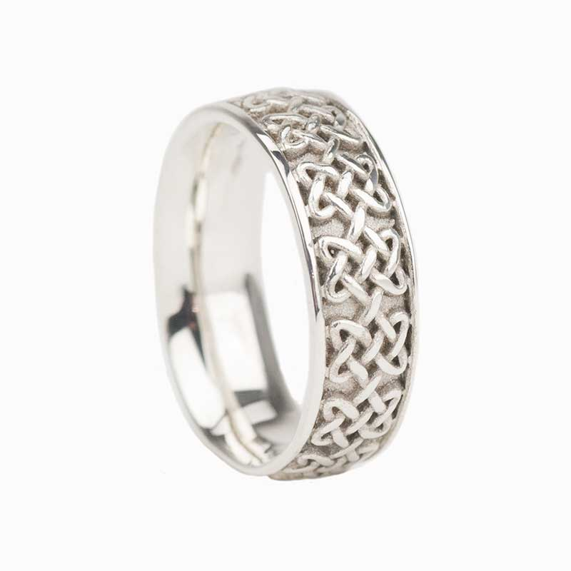 Never Ending Hearts Ring, Sterling Silver