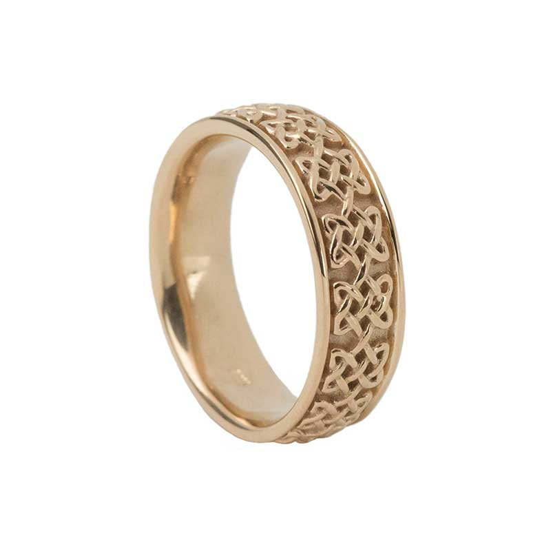 Never Ending Hearts Ring, 14 kt. Yellow Gold