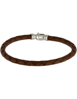 Leather Bracelet, Four Strand