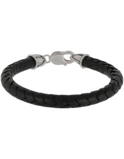 Leather Bracelet, Eight Strand