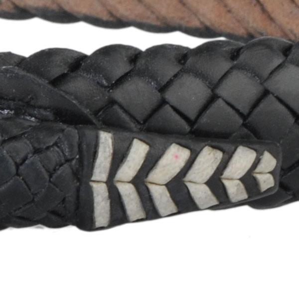 Black Snake Belt, Close-up of Tail