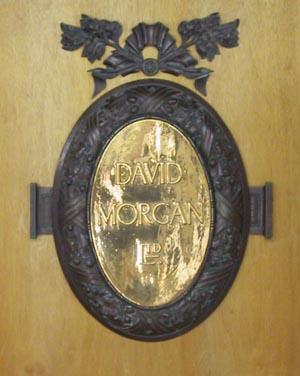 David Morgan Plaque