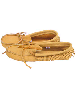 Low Moose Leather Moccasin