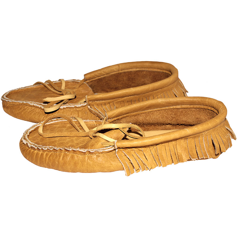 Bison Moccasin with Sole