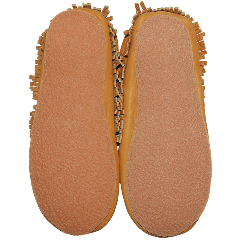 View of sole, Bison Moccasin with Sole
