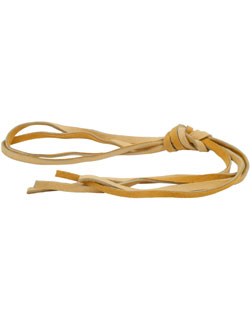 Replacement Leather Moccasin Laces