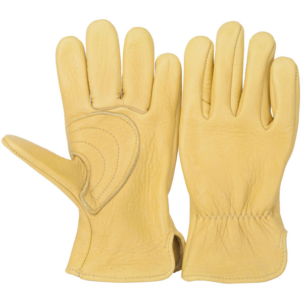 Elkskin Roper Glove : This glove is reinforced with a palm patch to resist wear.