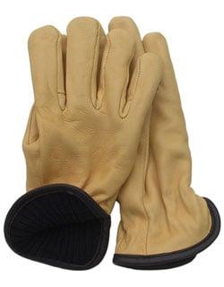Deerskin Wool Lined Glove