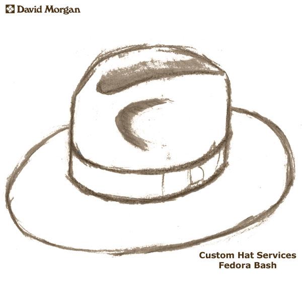 8d566a59cea67 Custom Akubra Hat Services  Fedora Bash