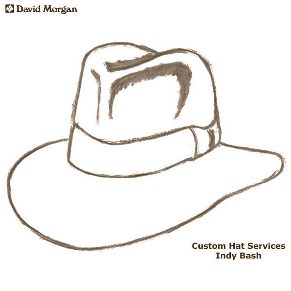 cf03e0b9650e9 Custom Akubra Hat Services  Indy Bash