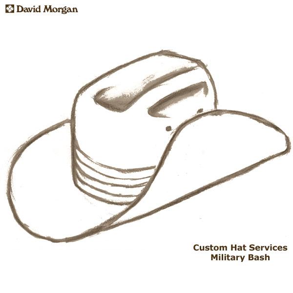 Custom Akubra Hat Services, Military Bash