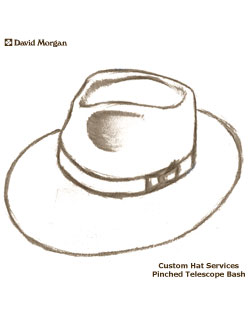 Custom Hat Service, Pinched Telescope Bash
