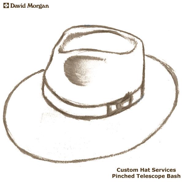Custom Akubra Hat Services, Pinched Telescope Bash