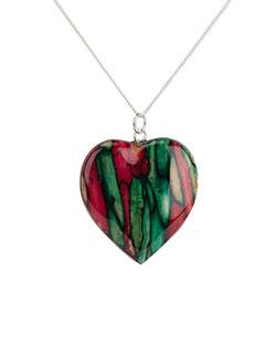 Heathergem Heart Pendant