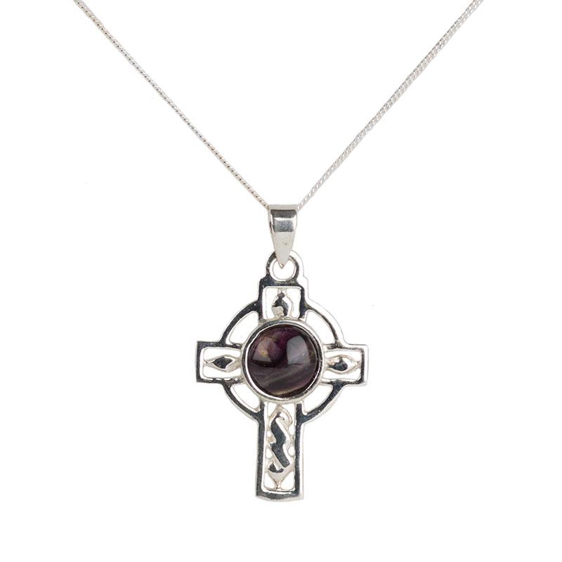 Heathergem Celtic Cross Pendant