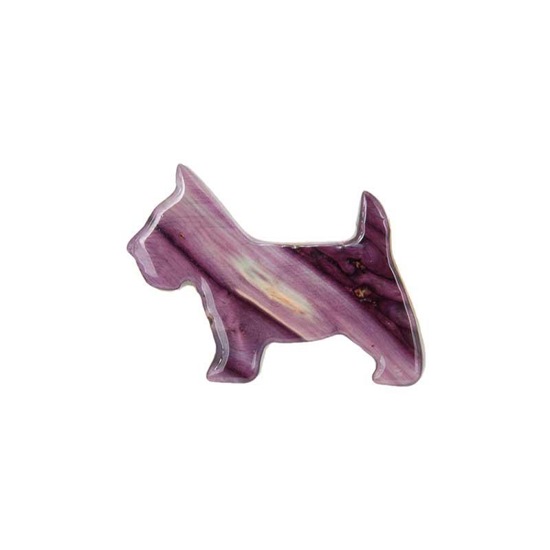 Scottish Terrier Pin, Heathergem