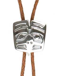 Haida Eagle Bolo Tie