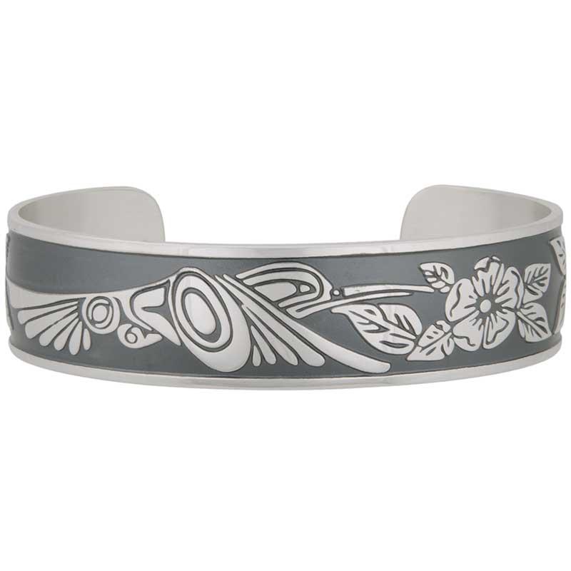 Hummingbird Bracelet by Danny Dennis, Sterling Silver