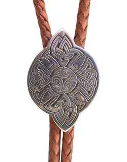 XL Immortal Strength Celtic Bolo Tie