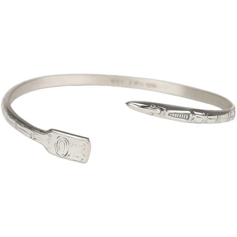 Narrow Raven Bracelet, Sterling Silver