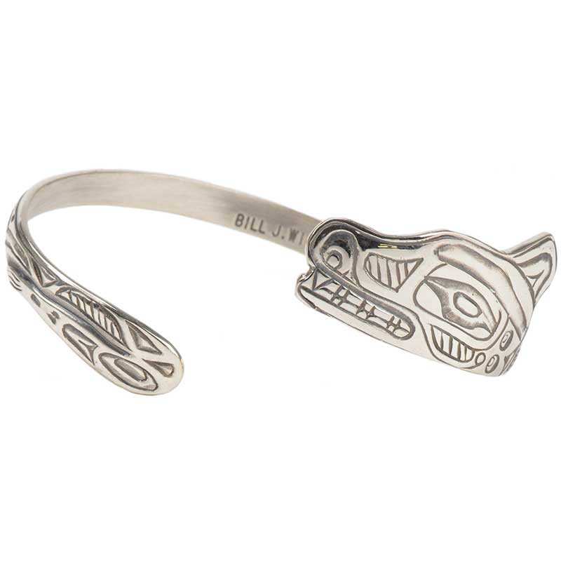 Wolf Trade Bracelet, Sterling silver