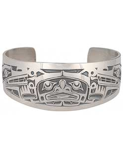 Sisiutl Bracelet (Slim Wrist)