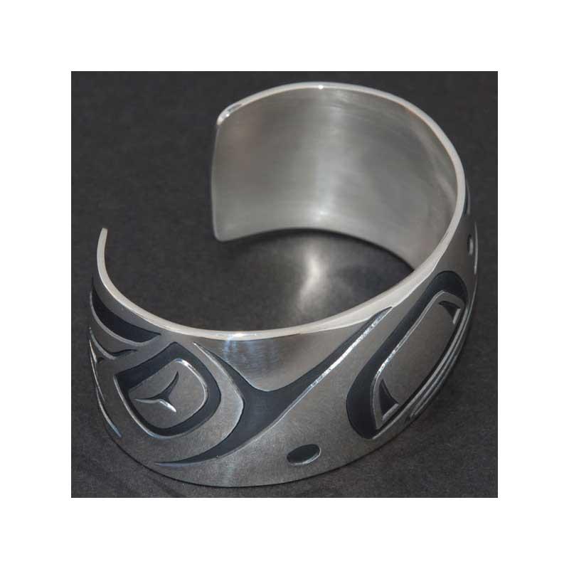 Raven  Bracelet by Danny Dennis, Sterling Silver