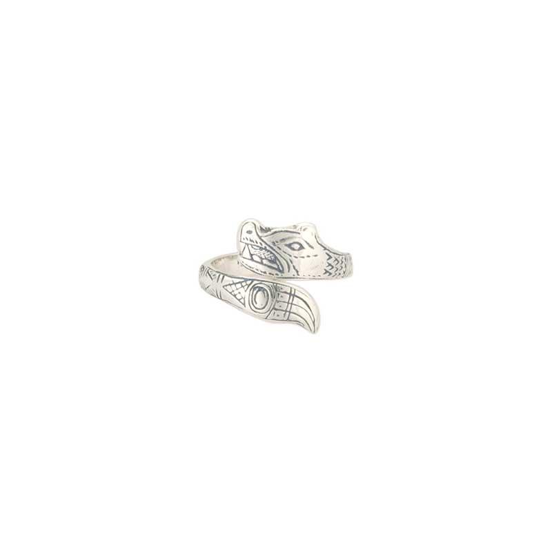 Bear Ring by Bill Wilson, Sterling Silver