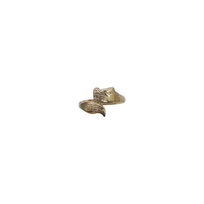Bear Ring, 14 kt. Gold