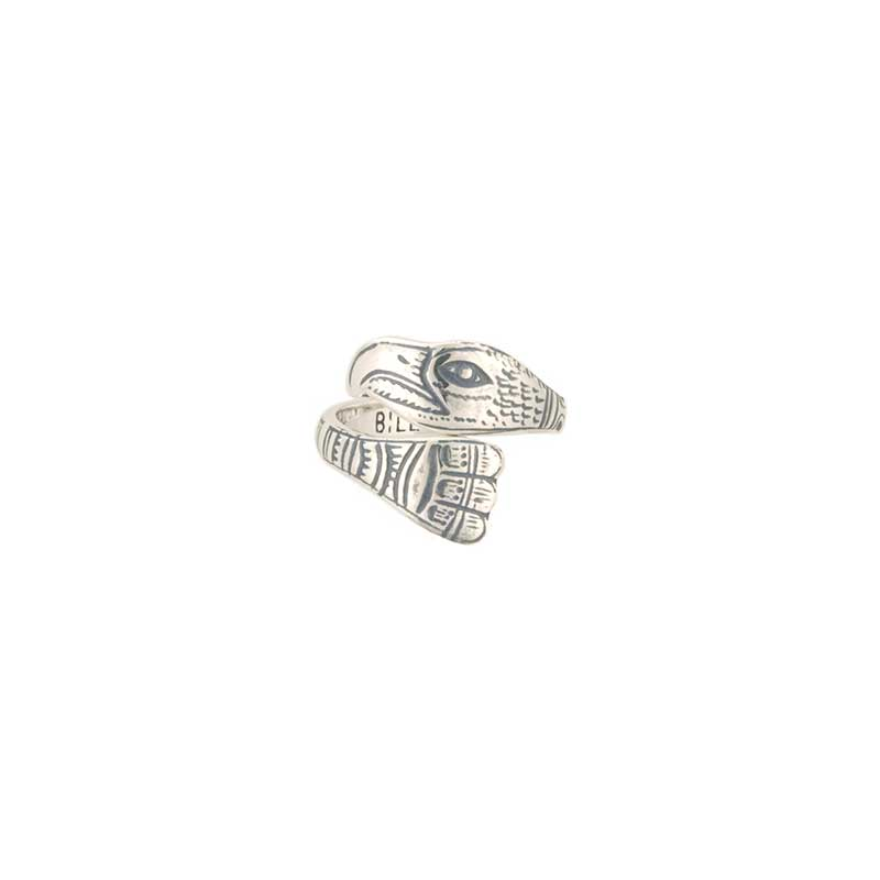 Eagle Ring by Bill Wilson, Sterling Silver