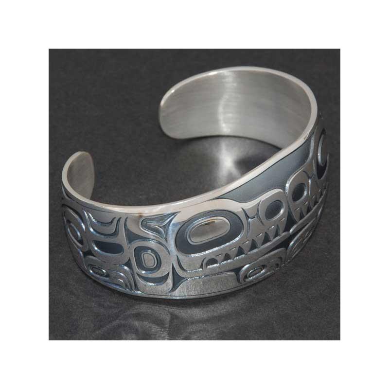 House of Wolf Bracelet, Sterling silver