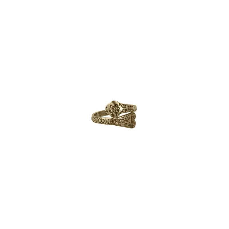 Frog Ring, 14 kt. Gold