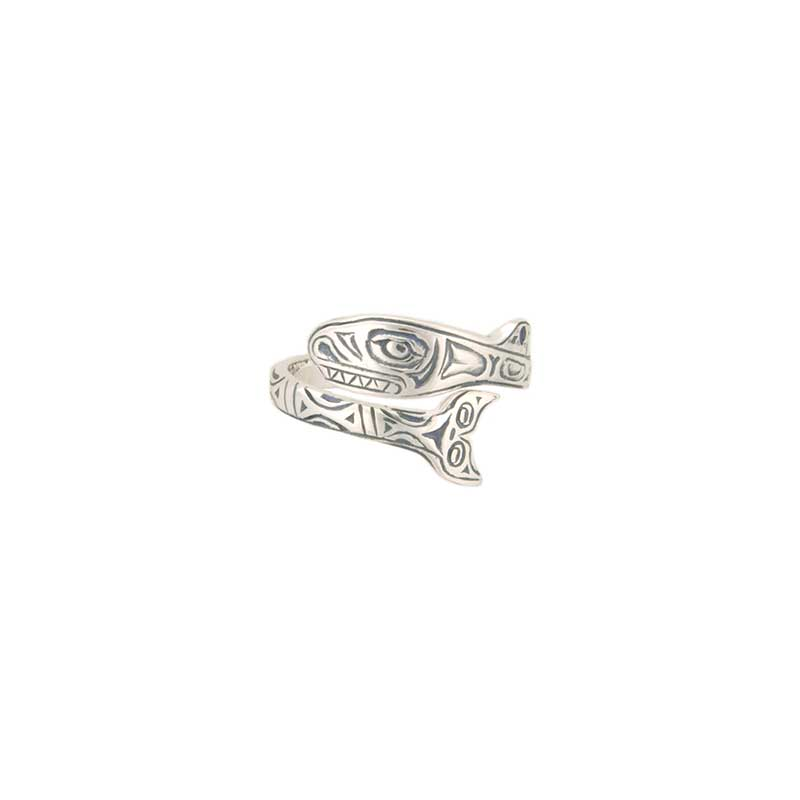 Orca Ring, Sterling Silver
