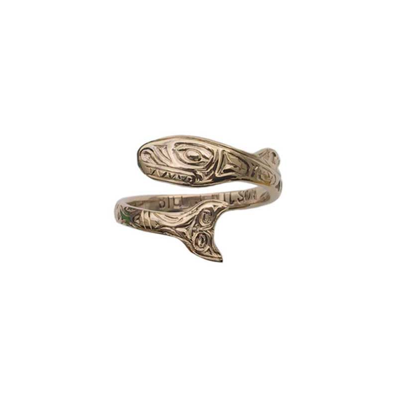 Orca Ring, 14 kt. Gold