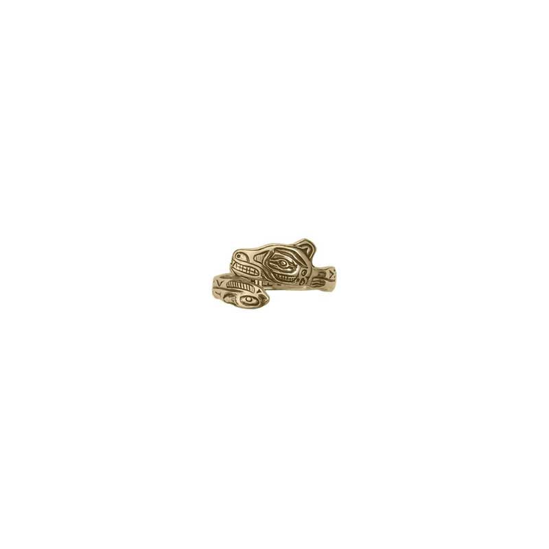 Wolf Ring, 14 kt. Gold