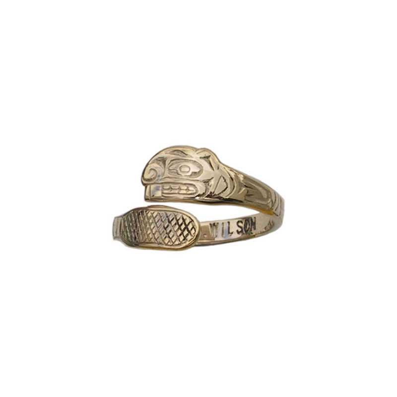 Beaver Ring, 14 kt. Gold