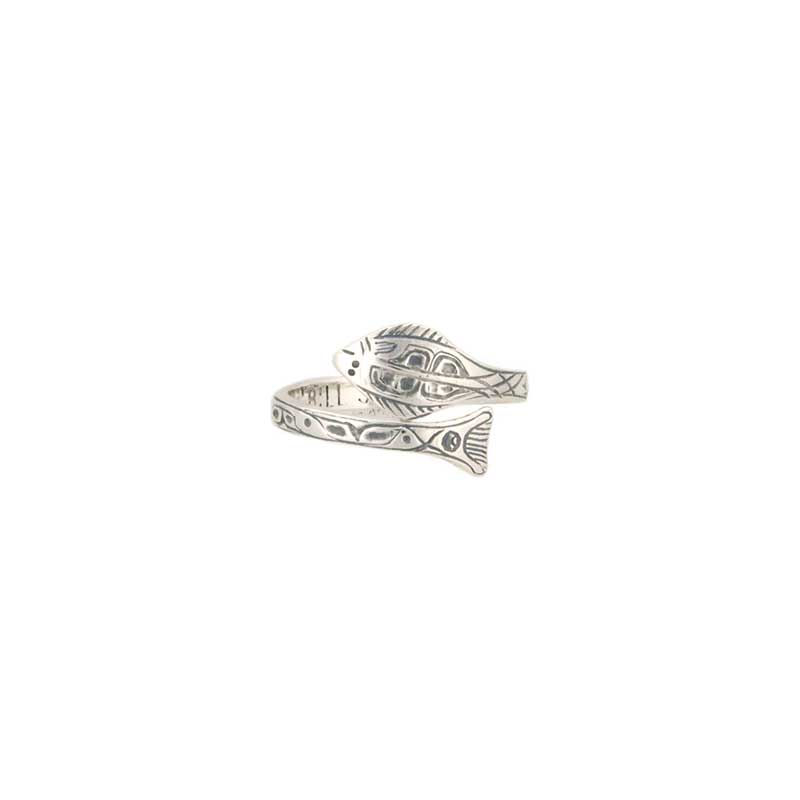 Halibut Ring, Sterling Silver