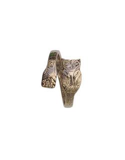 Owl Ring, 14 kt. Gold