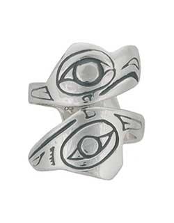 Lovebirds Ring, Large