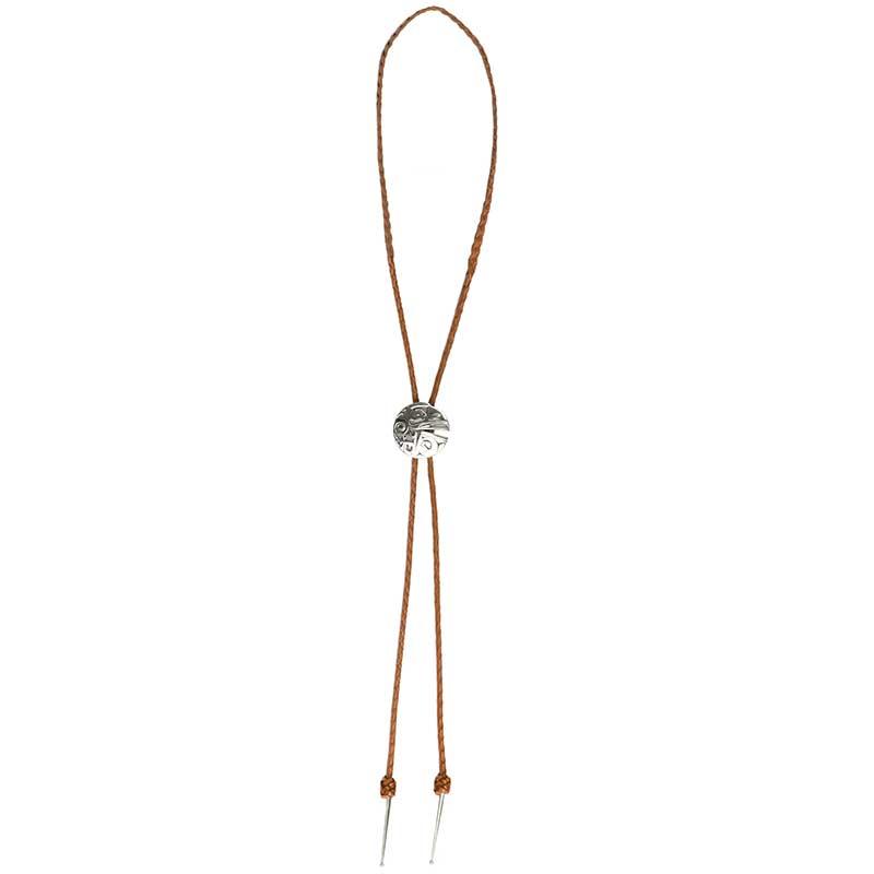 Box of Daylight Bolo Tie, Natural cord