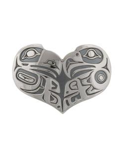 Lovebirds Pin