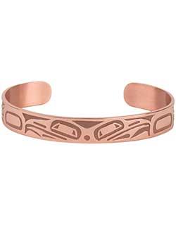 Copper Double Raven Bracelet