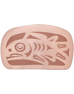 Copper Salmon Buckle, Large