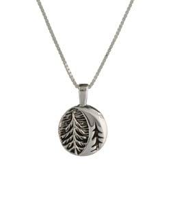 Moon through the Cedars Pendant