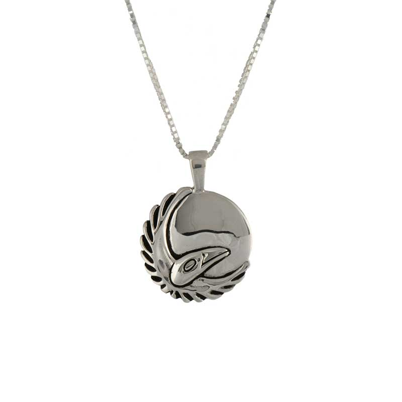 March Moon Pendant -- Front
