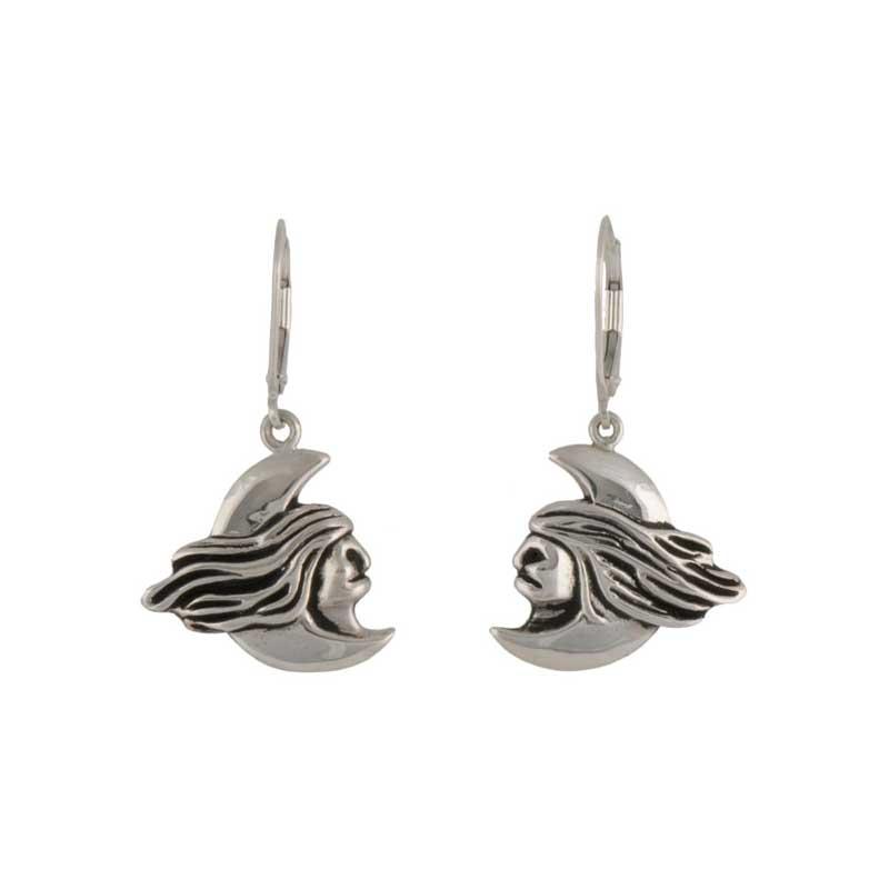 Fog Woman's Earrings, Sterling silver