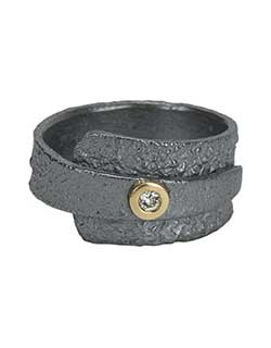 Reticulated Ring, Oxidized